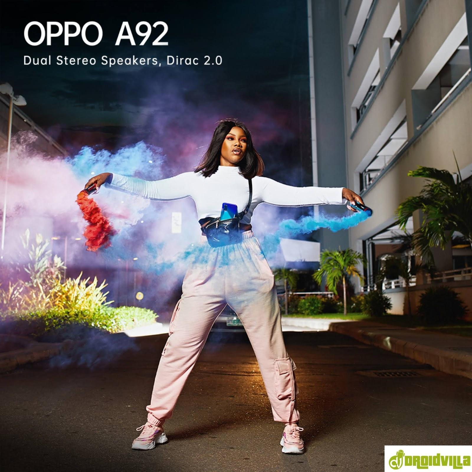 Oppo A92 price in Nigeria