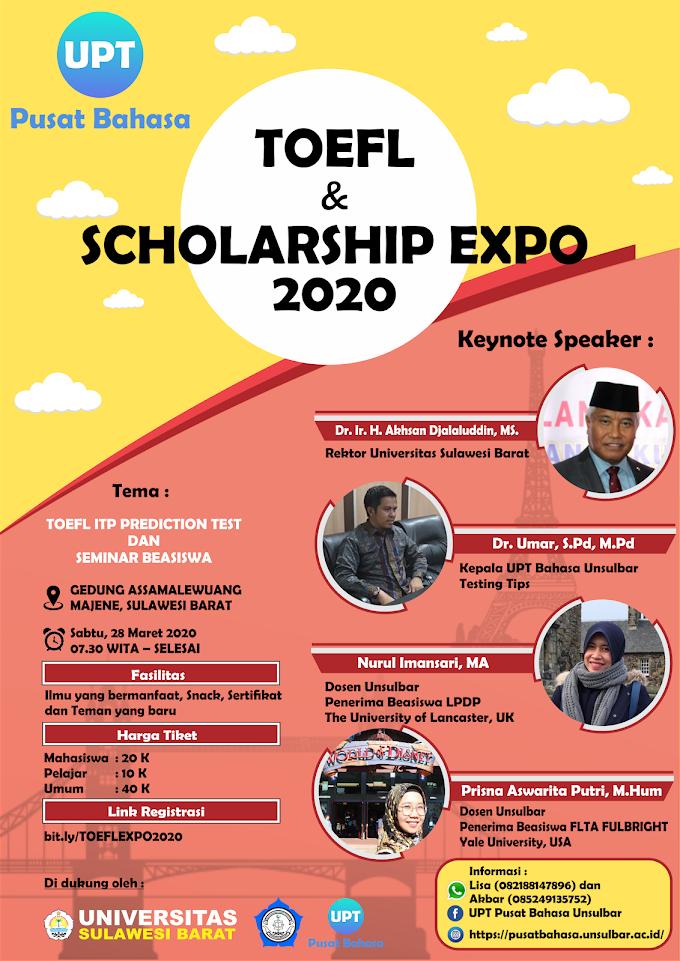 Toefl & Scholarship Expo 2020