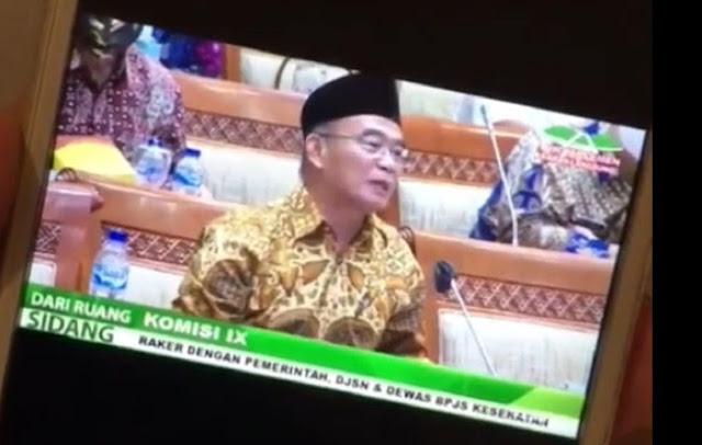 Viral.. Menteri Muhadjir Menumpahkan Amarah saat Rapat dengan DPR, Ini Penyebabnya