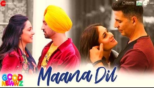 MAANA DIL LYRICS- GOOD NEWWZ