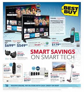 Best Buy Weekly Flyer and Circulaire October 19 - 25, 2018