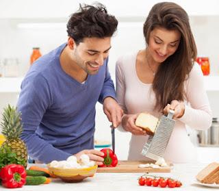 como entender a una mujer en la cocina