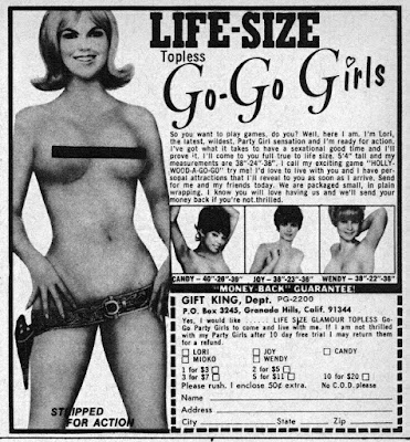 Life-Size Go-Go Girls