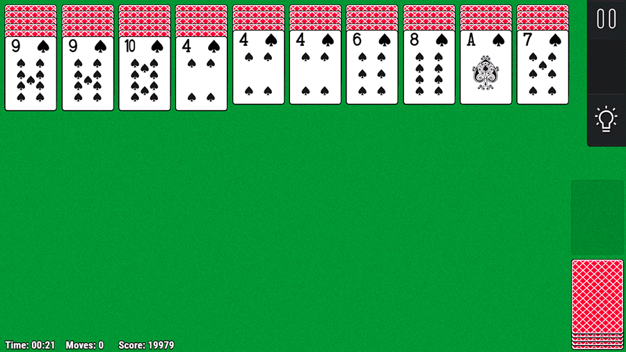 Tableau Spider Solitaire image