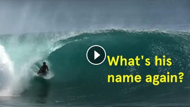 A Talented Underground Ecuadorian Surfer Carlos Goncalves
