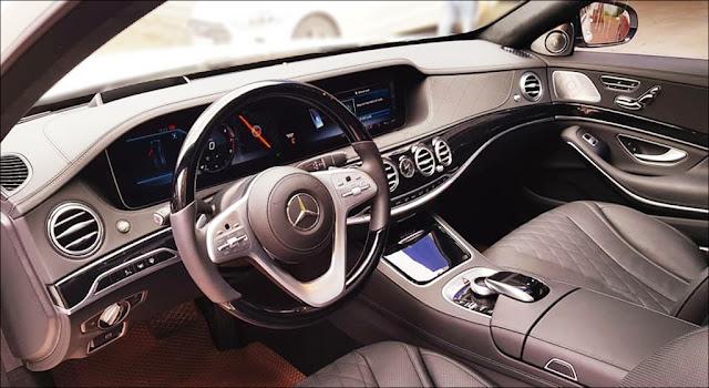 Nội thất Mercedes S450 L Luxury 2019 thiết kế sang trọng và lịch lãm