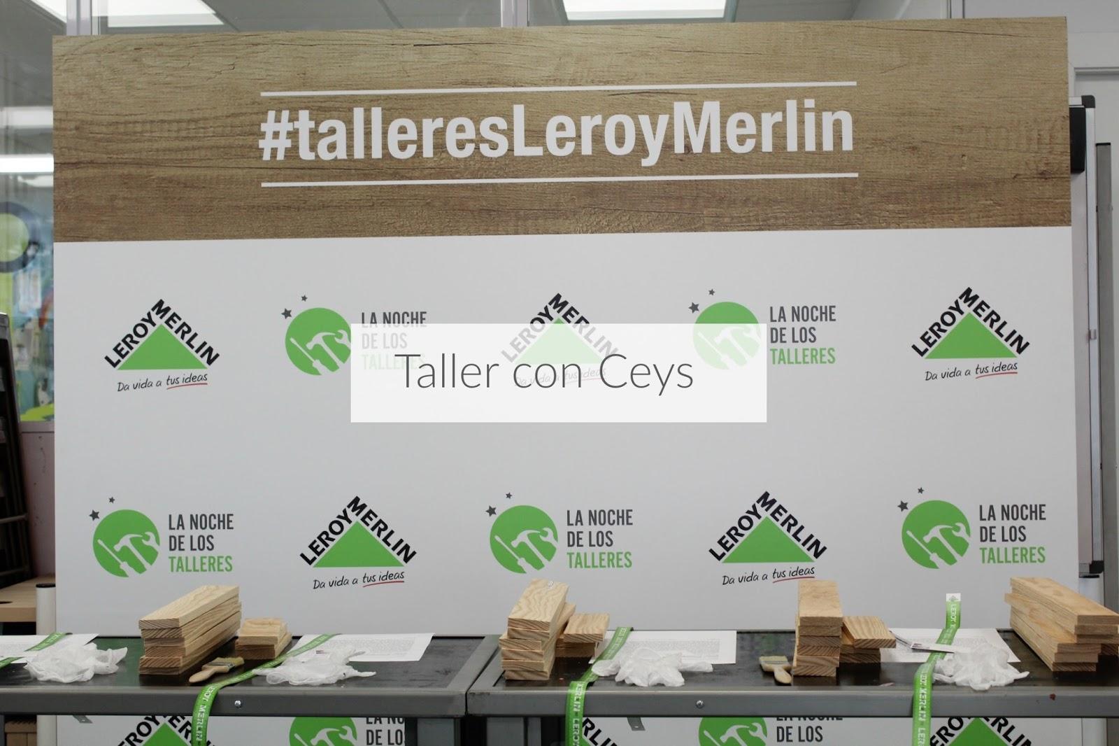 Taller Ceys En Leroy Merlin Decoracion Red ~ Redes Para Balcones Leroy Merlin
