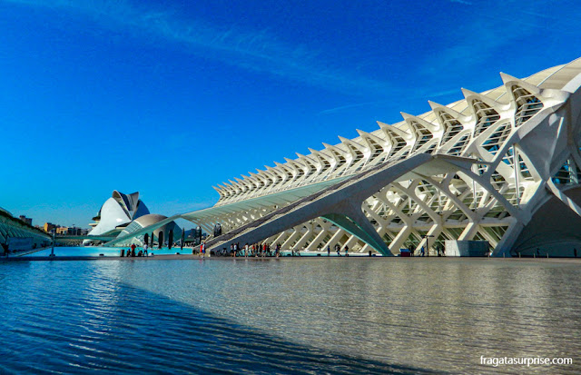 Cidade das Artes e Ciências de Valência, projeto de Santiago Calatrava