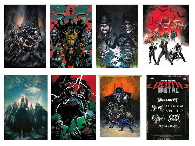 Megadeth, Ozzy, Ghost... En el Cómic: Noches Oscuras: Death Metal.