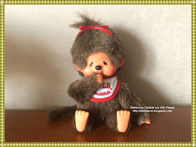 kiki monchhichi Bølle danemark plush vintage eighties