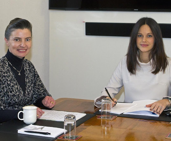 Princess Sofia Met With Sophiahemmets Research Director