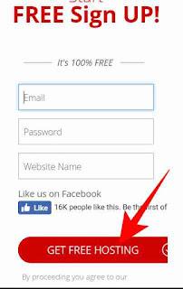 Free hosting se WordPress website kese banaye 2