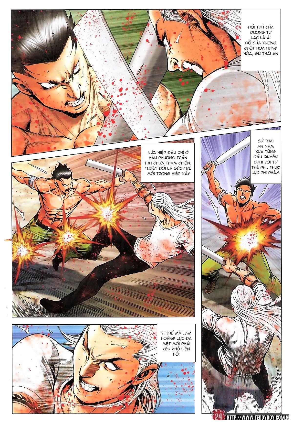 Người Trong Giang Hồ chapter 1840: đại phi ác chiến kim tôn quý trang 22