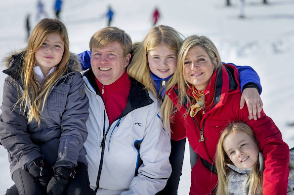 Princess Alexia fell down while skiing and broke one of her legs on Saturday. Princess had to undergo an operation at a hospital.