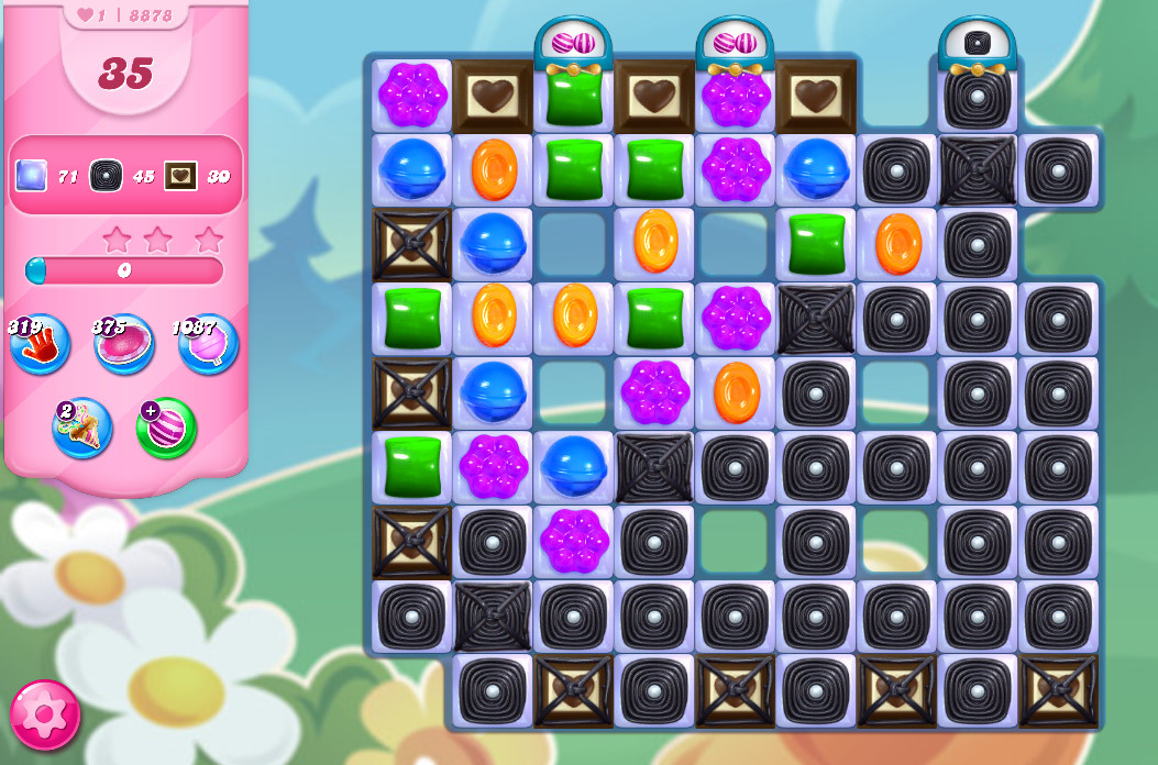 Candy Crush Saga level 8878
