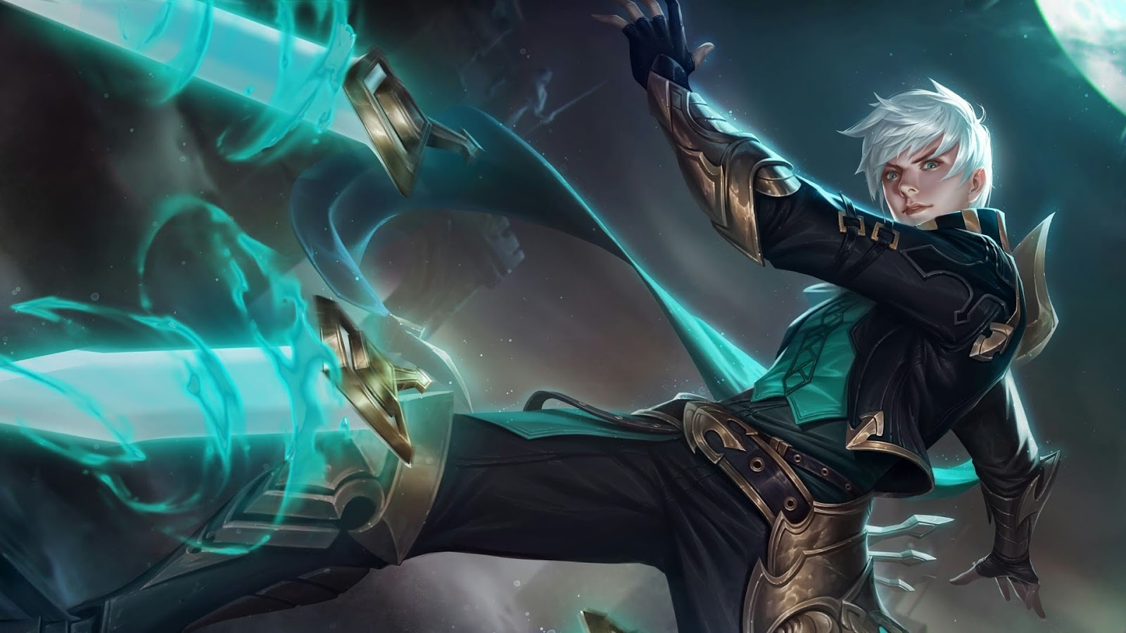 Wallpaper Gusion Moonlight Sonata Skin Mobile Legends HD for PC