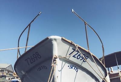 Abandoned Ship near Coast