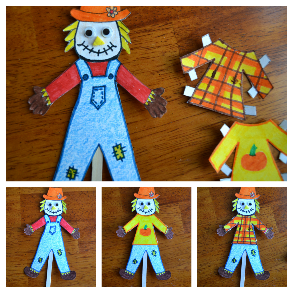 East Coast Mommy: Scarecrow Paper Doll