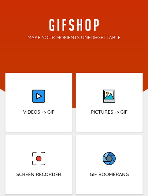 Create GIF using app