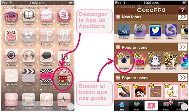 app cocoppa pasos