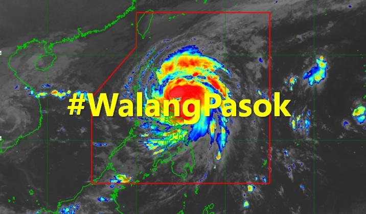#WalangPasok: Class, work suspensions on November 12, 2020
