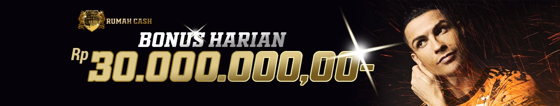 BONUS DEPOSIT HARIAN 10%  ALL PRODUCTS BONUS MAX 30 JUTA RUPIAH !