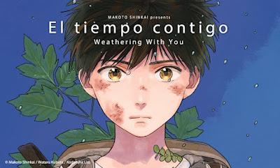 El Tiempo Contigo (Weathering With You) de Makoto Shinkai