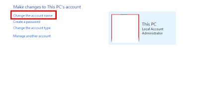 Cara Mudah Mengganti Nama Akun Pada Windows 10