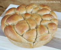 Daisy Braid Bread