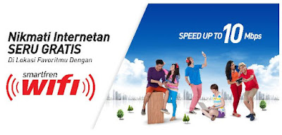 Cara Setting Internet Gratis Smartfren Wifi Android iPhone