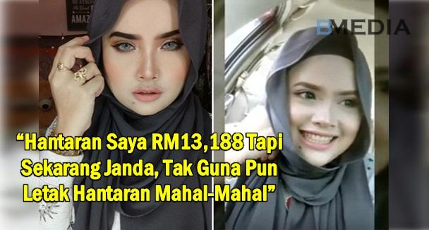 """""""Hantaran Saya RM13,188 Tapi Sekarang Janda, Tak Guna Pun Letak Hantaran Mahal-Mahal"""""""