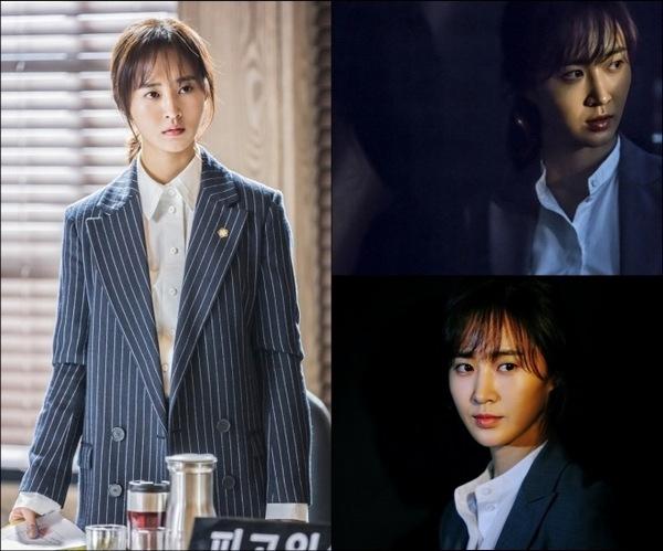 """Foto-foto Kwon Yuri Girls' Generation sebagai pengacara pendatang baru di drama MBC 2017 """"Defendant""""."""