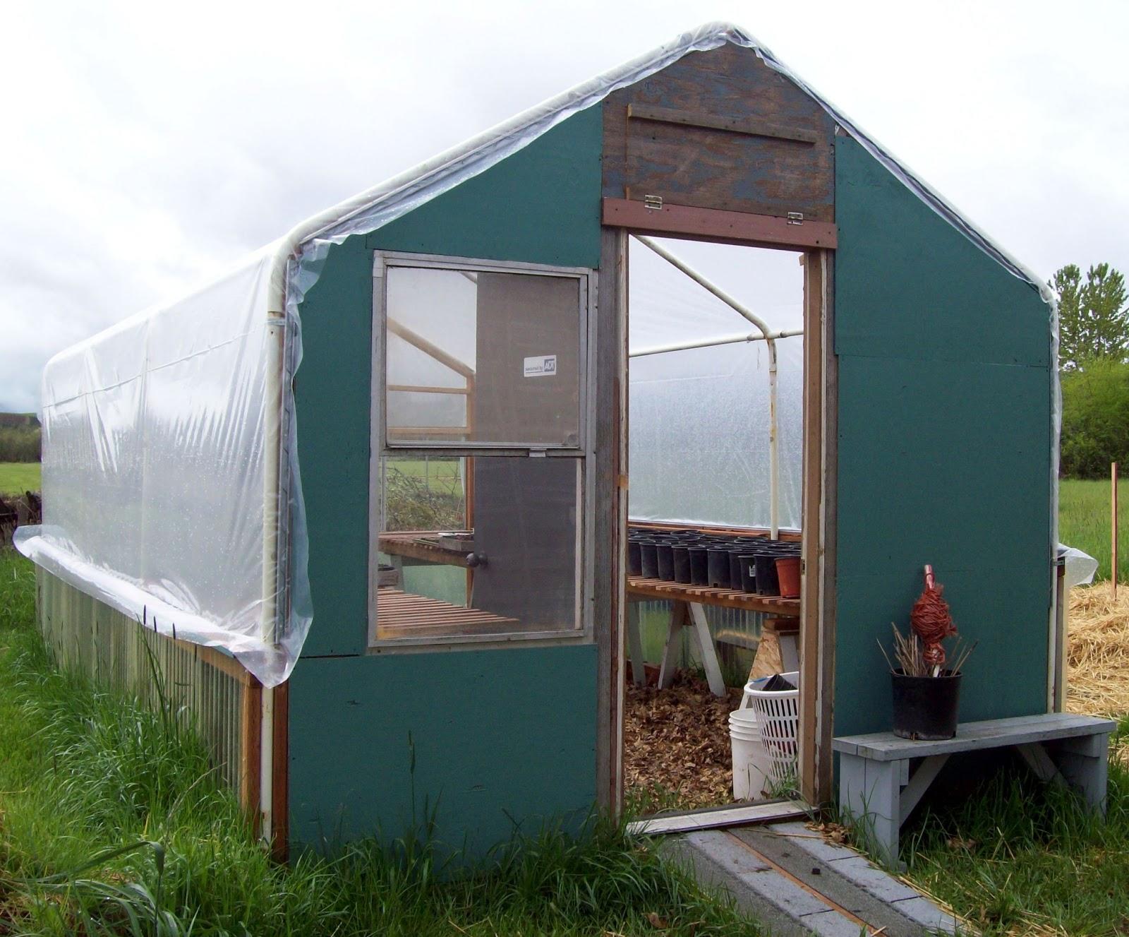 Sharing Gardens Carport Frame Greenhouse Design