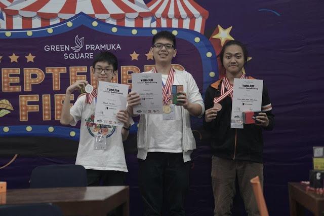 juara podium yjjjs 2019