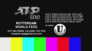 ATP 500 Rotterdam ABN AMRO World Tennis Tournament Eutelsat 7A/7B Biss Key 13 February 2020