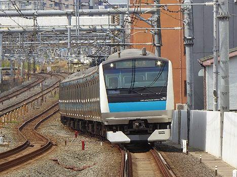京浜東北線 各駅停車 東十条行き E233系(南行)(2015.4.12運行)