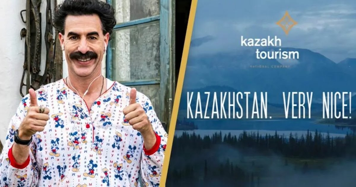 Kazakhstan Tourist Board Adopts Borat's 'Very Nice!' Catchphrase As Their New Official Slogan