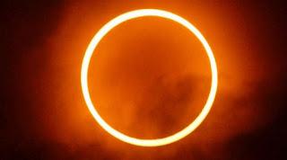 Gerhana Matahari Cincin Muncul Petang Nanti di 124 Kota