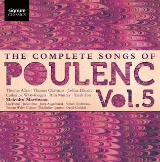 The Complete Song of Poulenc, Volume 5