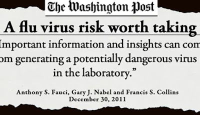 Στοιχεία Φωτιά! «Πώς κατασκευάστηκε ο ιός – Εμπλοκή Φάουτσι»