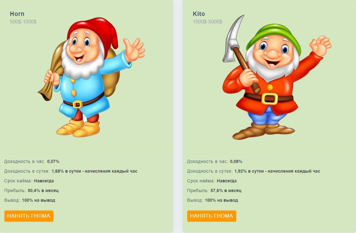 Инвестиционные планы Gnome-Game 4