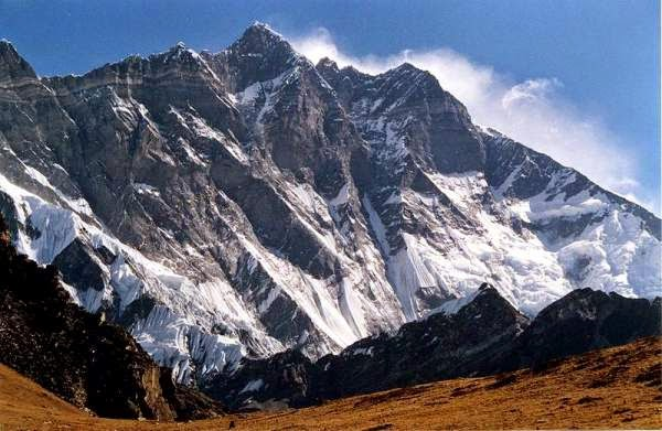 Nepal - view of Lhotse