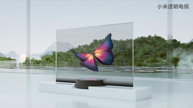 La primera TV totalmente transparente es de Xiaomi-TuParadaDigital