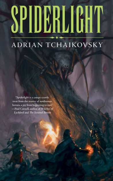 "Click Here To Order ""Spiderlight"" by Adrian Tchaikovsky!!!"