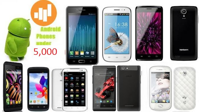 10 cheapest Android phone in India below Rs 5000 for ...