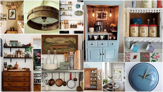 Πως θα αξιοποιήσετε παλιά αντικείμενα - έπιπλα στην διακόσμηση της Κουζίνας