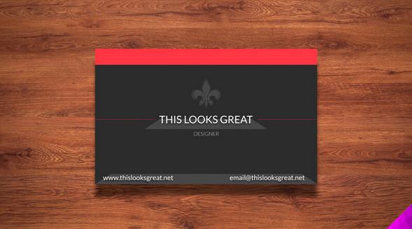 Descarga los mejores mockups de tarjeta de visita