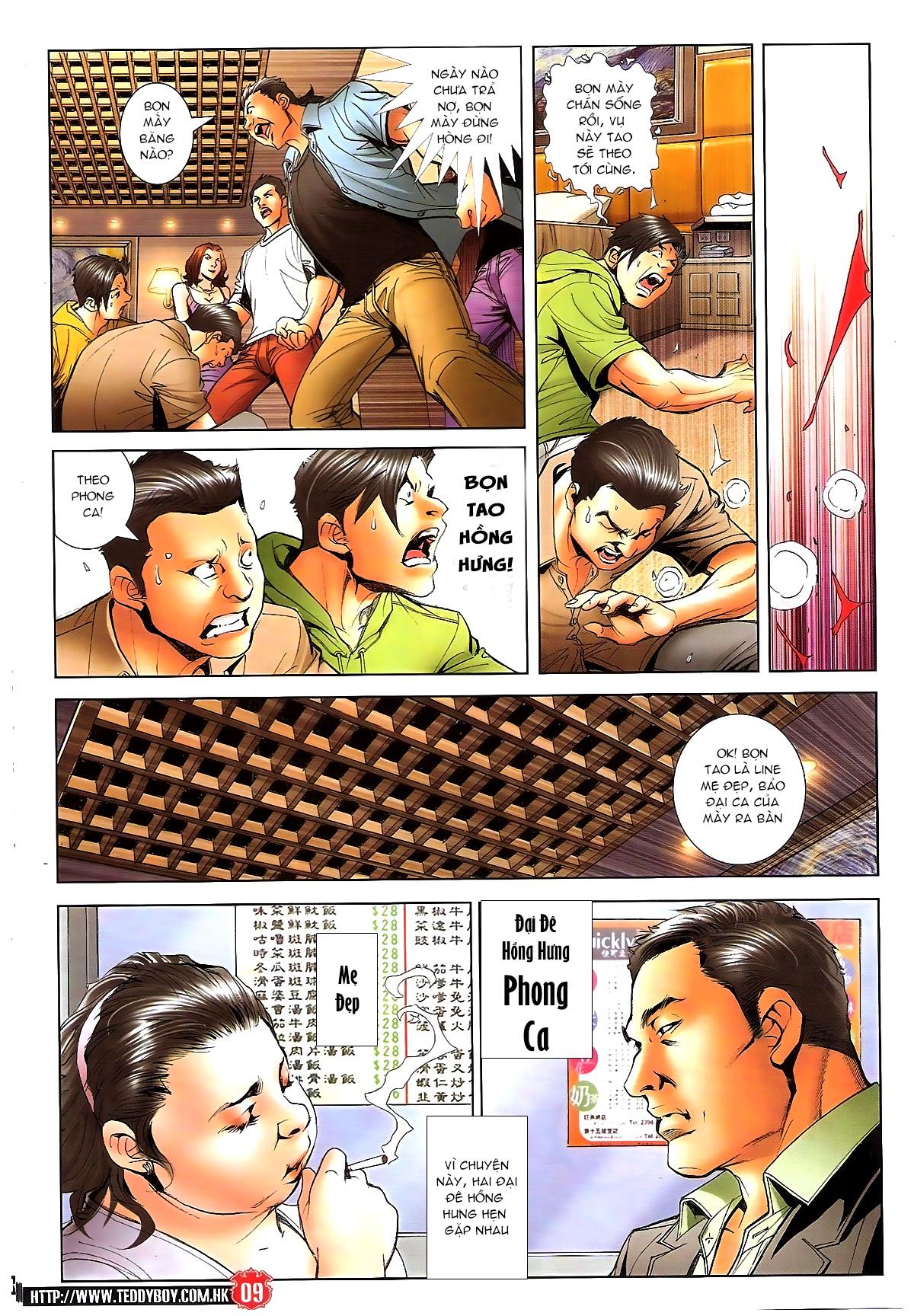 Người Trong Giang Hồ chapter 1648: tự tìm đường chết trang 7