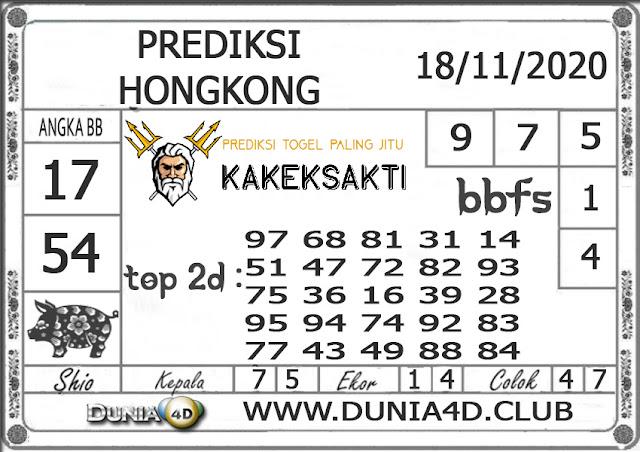 Prediksi Togel HONGKONG DUNIA4D 18 NOVEMBER 2020