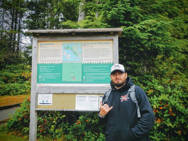 Tofino radar hill hiking
